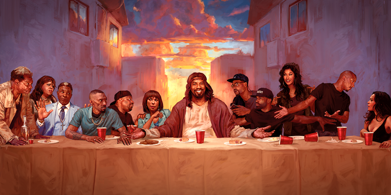 And Lo, There Was The 'Black Jesus' Meme Generator, And It Was Good